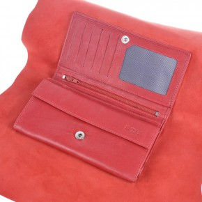 wallet uncut red